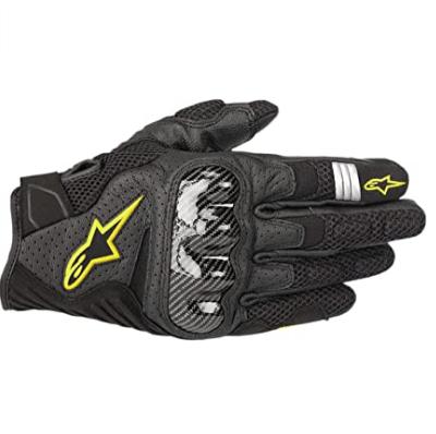 Los mejores guantes de verano para moto 2021 Alpinestar SMX 1 Air V2 Fluor