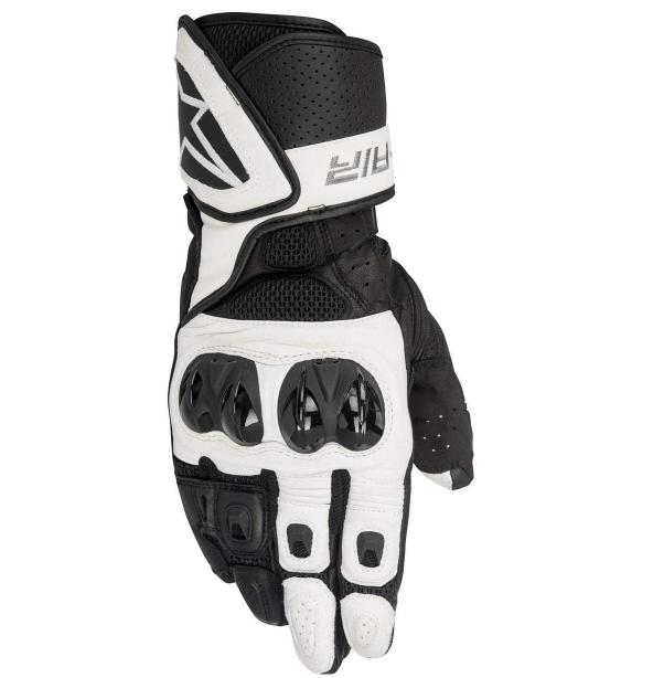 Los mejores guantes de verano para moto 2021 Alpinestar SP Air Blanco