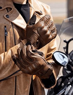Los mejores guantes de verano para moto 2021 Inbike Piel