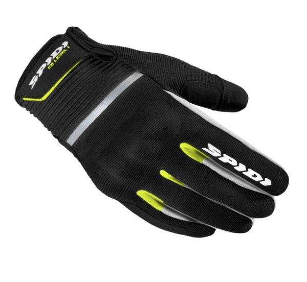 Los mejores guantes de verano para moto 2021 Spidi Flash CE Yellow Fluo