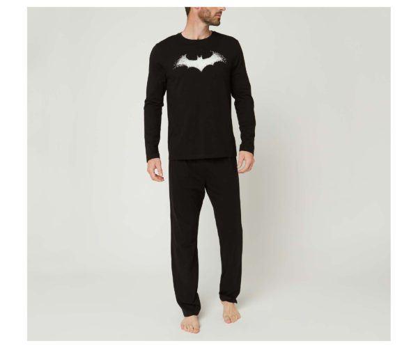Catálogo Rebajas Alcampo Otoño Invierno 2021 2022 pijama largo Batman