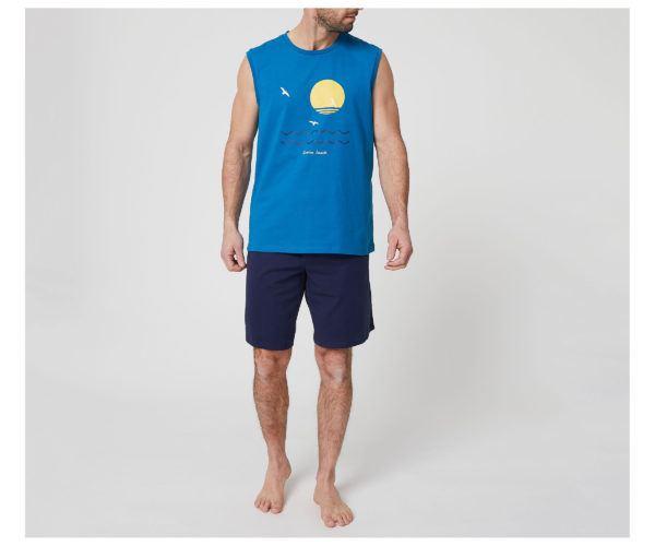 Catálogo Rebajas Alcampo Otoño Invierno 2021 2022 camiseta sin mangas pijama