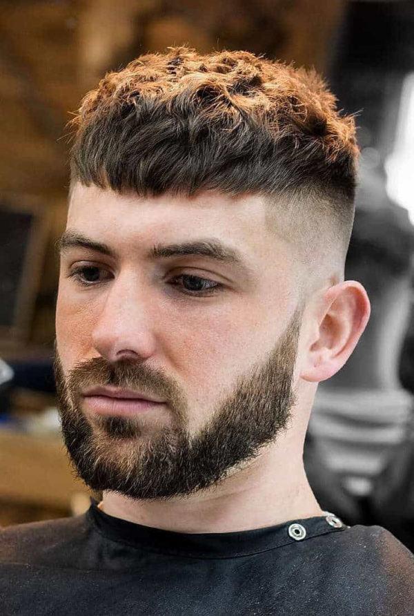 Las fotos de los cortes de pelo de hombres pelo texturizado