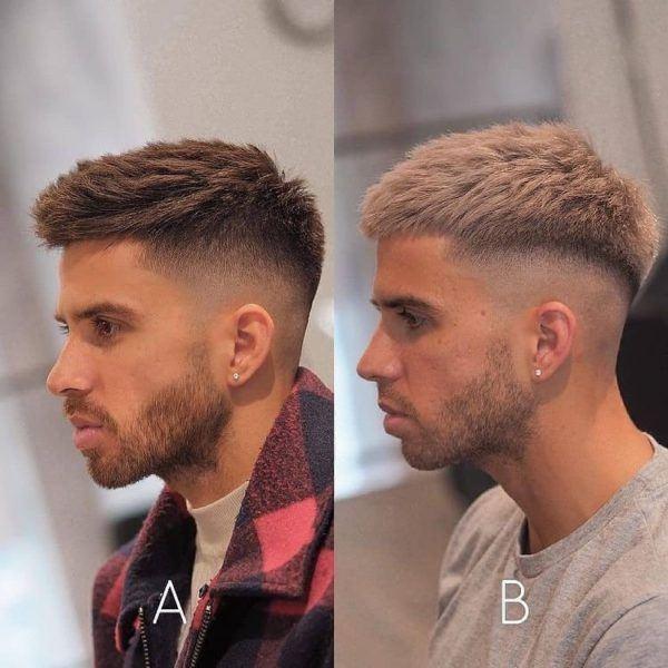 Las fotos de los cortes de pelo de hombres undercut