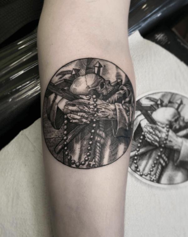 Las mejores ideas de tatuajes blackwork para hombres 2022 rosario