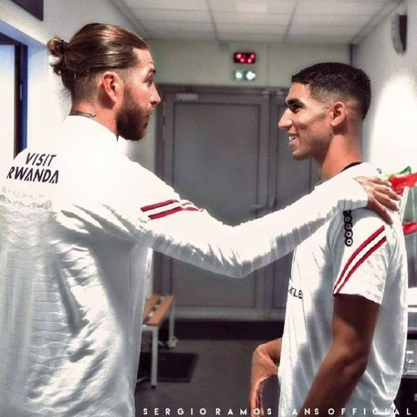 Peinados de futbolistas de moda futbol 2022 sergio ramos