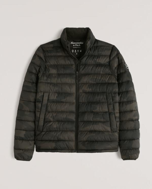 Las Rebajas en Abercrombie para Invierno 2022 chaqueta acolchada plumón