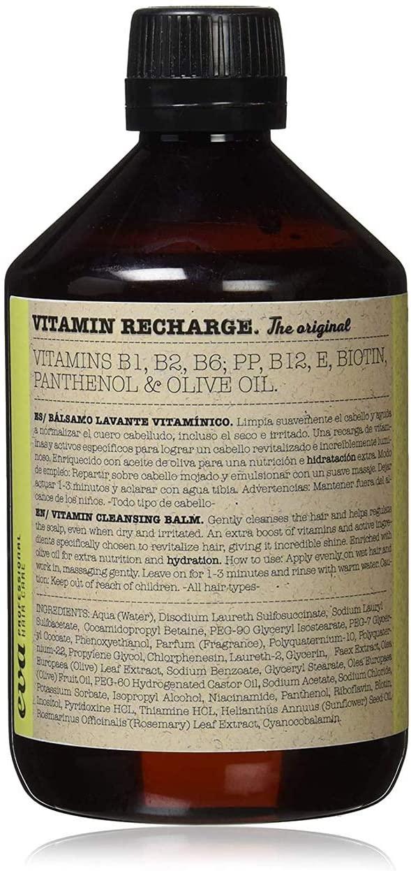 los mejores productos de pelo para calvos Vitamin Recharger