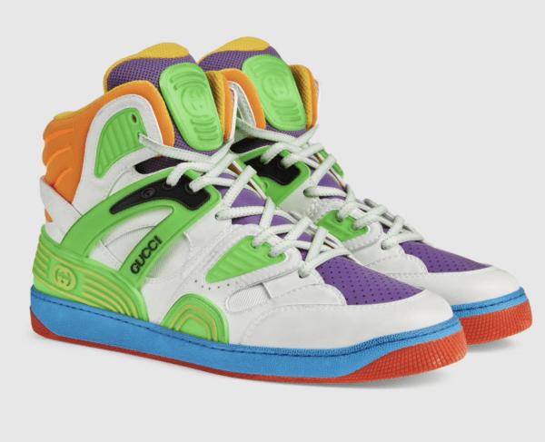 ¿Cuáles son las zapatillas perfectas para el invierno? Gucci Basket