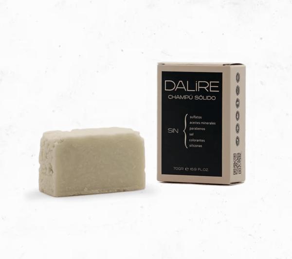 La review más completa del champú sólido sin sulfatos de Dalire pastilla