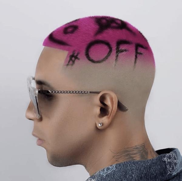 Los mejores cortes de pelo con navaja para hombre 2022 tinte rosa