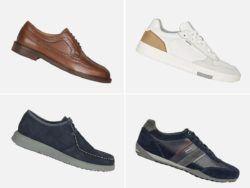 Catálogo Geox Otoño Invierno en calzado para hombre 2021 2022 portada