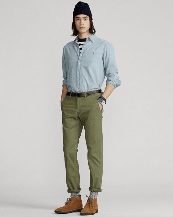 Moda Otoño Invierno 2021-2022 Chino slim Polo Ralph Lauren