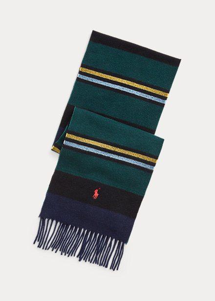 Ralph Lauren Otoño Invierno 2022 para Hombres bufanda de cachemira