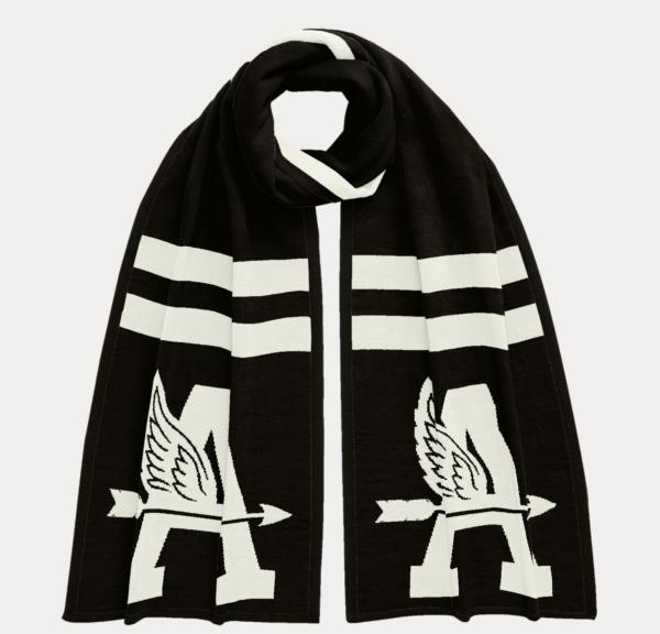 Ralph Lauren Otoño Invierno 2022 para Hombres bufanda personalizada