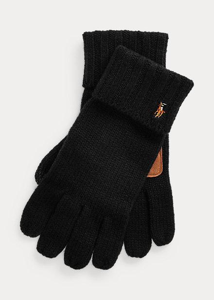 Ralph Lauren Otoño Invierno 2022 para Hombres guantes de lana