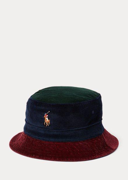 Ralph Lauren Otoño Invierno 2022 para Hombres sombrero de pescador pana