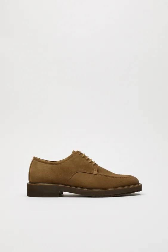 Zapatos zara hombre otoño invierno 2021 2022 zapato blucher