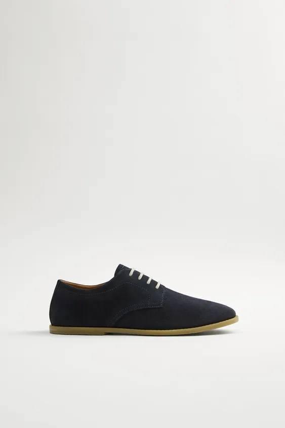 Zapatos zara hombre otoño invierno 2021 2022 zapato blucher soft