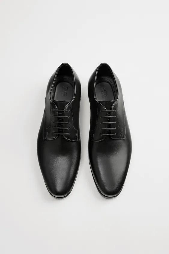 Zapatos zara hombre otoño invierno 2021 2022 zapato formal blucher