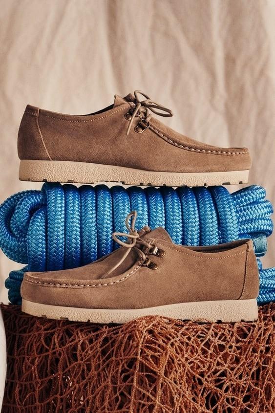 Zapatos zara hombre otoño invierno 2021 2022 zapato sport