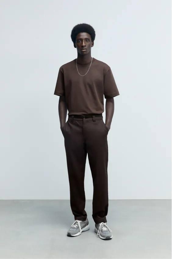 Camisetas de hombre zara camiseta heavyweight