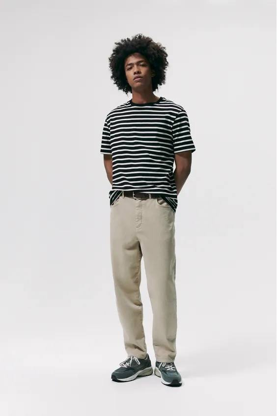 Camisetas de hombre zara rayas