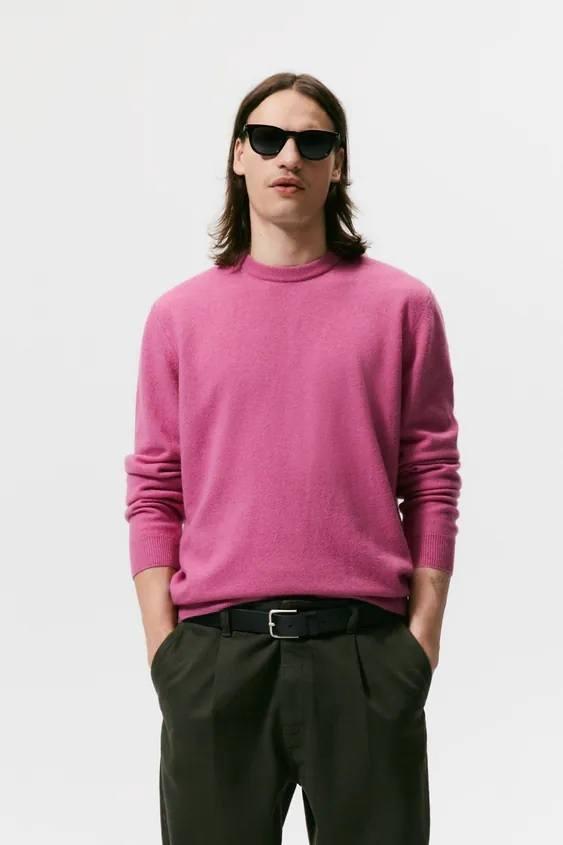 Catalogo zara hombre jersey rosa