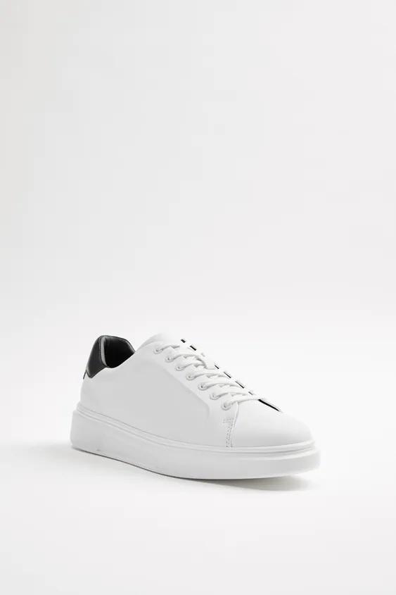 Catalogo zara hombre zapatillas blanca