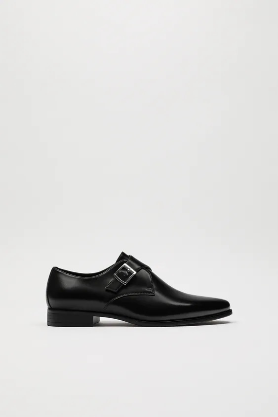 Catalogo zara hombre zapato hebilla