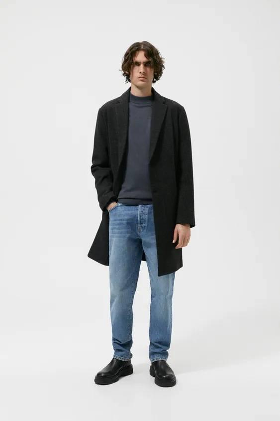 El catalogo de abrigos y chaquetas para hombre de zara abrigo confort