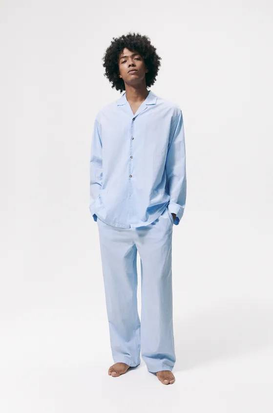 Los pijamas de zara modelo de rayas