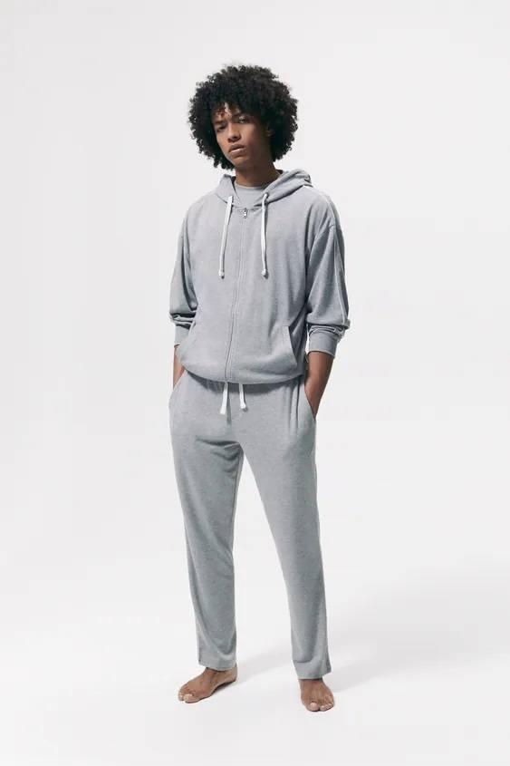 Los pijamas de zara sudadera