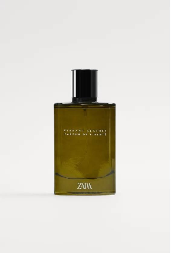 Mejores perfumes masculinos zara vibrant leather