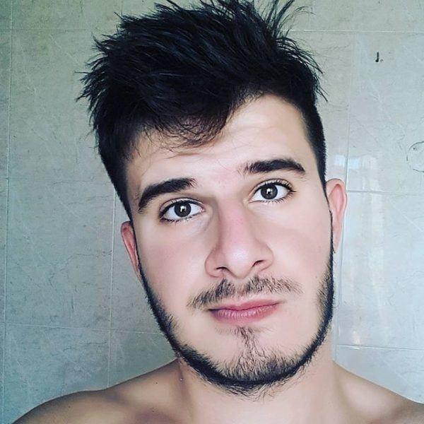 Mejores tipos o estilos de barba corta para hombres barba mezclada con perilla
