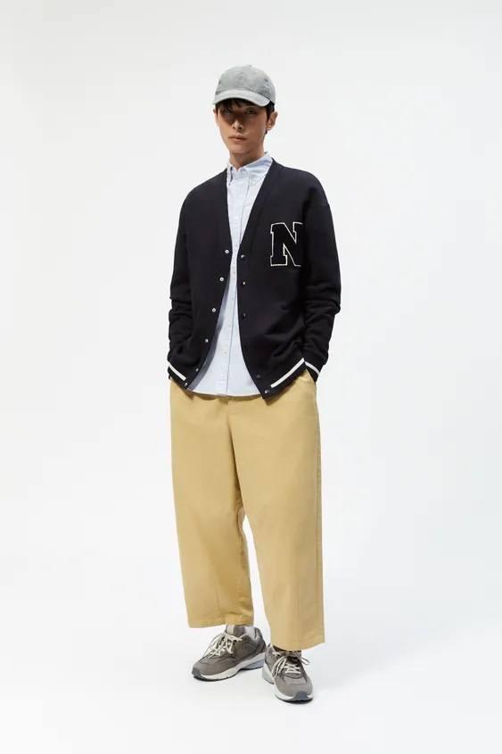 Pantalones hombre pantalon colores crudo