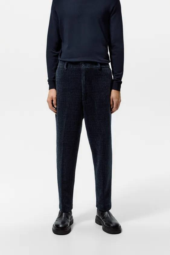 Pantalones hombre pantalon pana soft