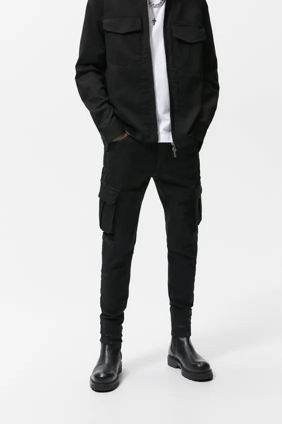 Pantalones hombre pantalon soft denim