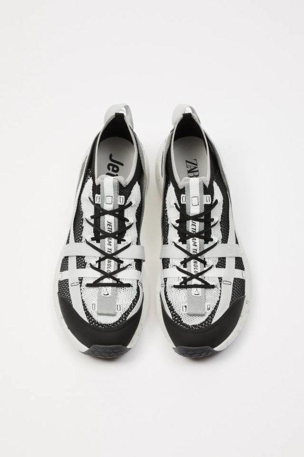 Zapatillas de zara para hombre RETRO FOTOS zapatilla running jet foam