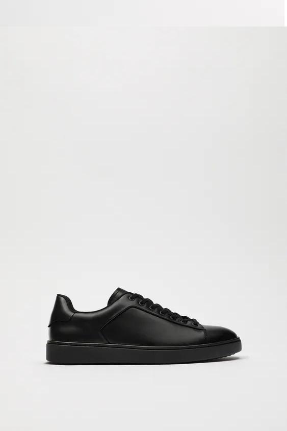 Zapatillas de zara para hombre zapatilla bamba piel