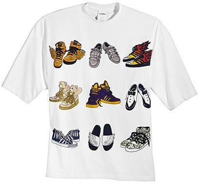 Camiseta Adidas Jeremy Scott