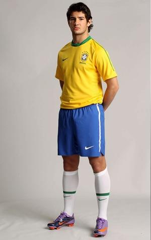 Camiseta Oficial Brasil Mundial 2010-2