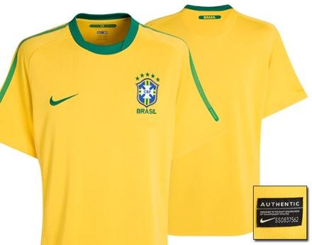Camiseta Oficial Brasil Mundial 2010-4
