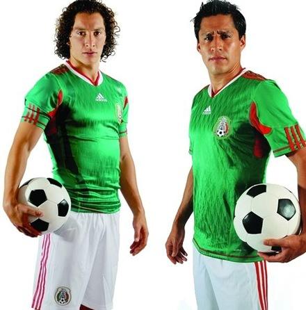 camiseta oficial mexico mundial 2010-2