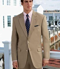 khaki-suit