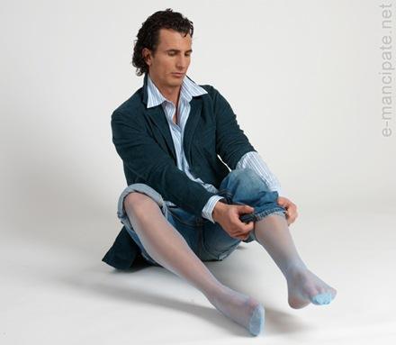Panty medias para hombres, alguien se atreve?