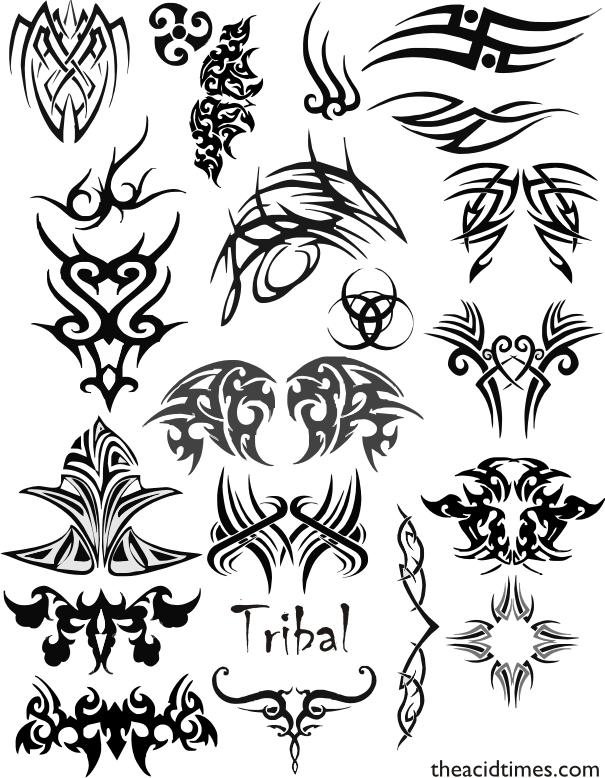 tatuajes de camaron. tatuajes con tribales. tatuajes-