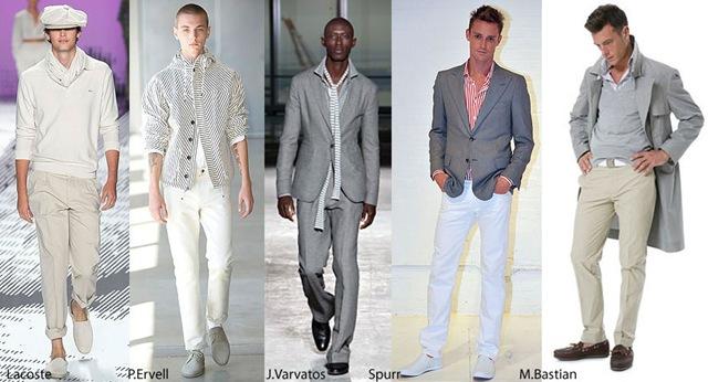 Tendencias en ropa para hombre primavera – verano 2015 - Modaellos