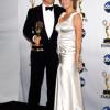 Tom Hanks en la ceremonia de los Emmy 2008