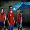 Adidas lanza la nueva roja   la camiseta de la selección española de fútbol